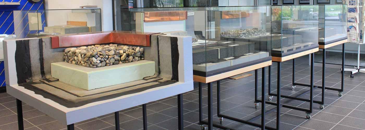 Flachdach Ausstellung
